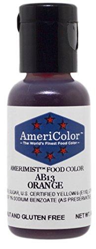AmeriColor AmeriMist Orange Airbrush Food Color 65 oz