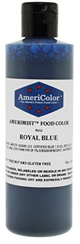 AmeriColor AmeriMist Royal Blue Airbrush Food Color 9 oz