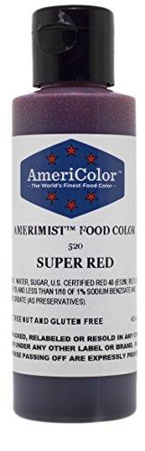 AmeriColor AmeriMist Super Red Airbrush Food Color 45 oz