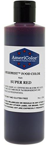 AmeriColor AmeriMist Super Red Airbrush Food Color 9 oz