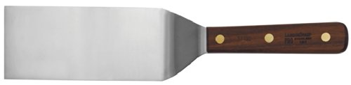 Lamson  Square End Turner  3 x 75  Stainless Steel with Riveted Walnut Handle flexible