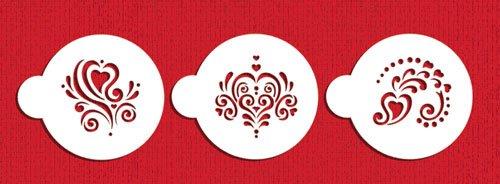 Mini Amore Cupcake Stencil Set by Designer Stencils