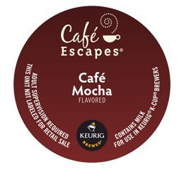 CAFE ESCAPES CAFE MOCHA K CUP 72 COUNT