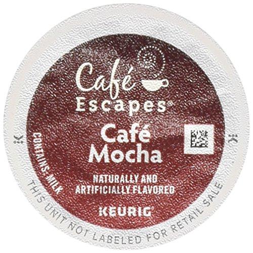 Cafe Escapes Cafe Mocha 12 Count Keurig K-Cups