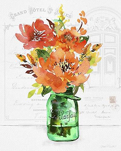 Le Parfait Jar A by Jean Plout Art Print 16 x 20 inches