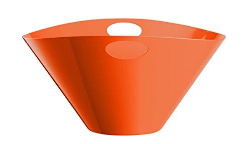 Mepra 251010F7 Centerpiece Bowl Large Carrot Orange