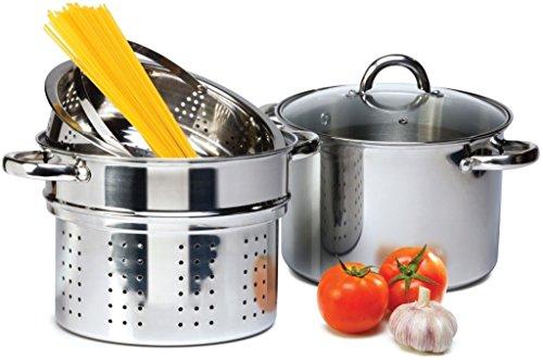 4 Pcs Stainless Steel Pasta Cooker Set
