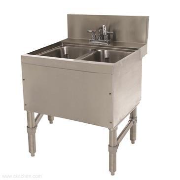 Advance Tabco PRB-24-22C Prestige Underbar Sink Unit