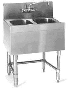 Eagle B2-2-24 Spec-Bar Underbar Sink Unit