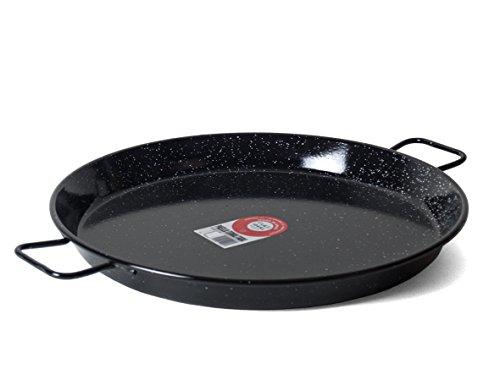 Garcima 22-Inch Enameled Steel Paella Pan