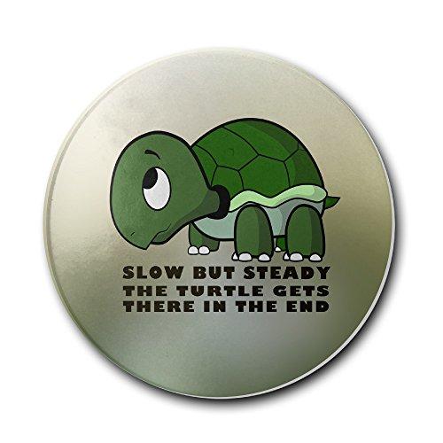 Slow But Steady Turtle Bar Drink Stoneware CoastersCeramic CoastersMat Coaster