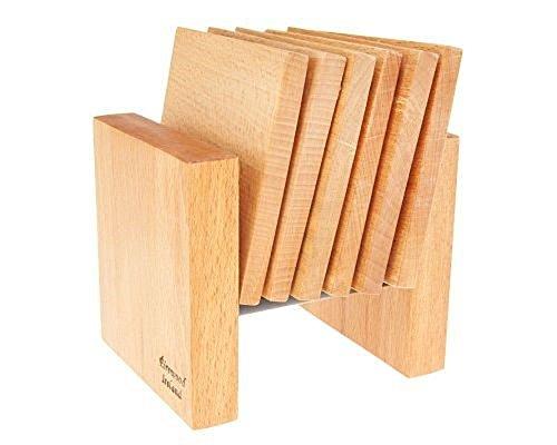 Handmade Wooden Coasters W Holder From Ireland
