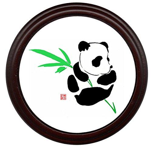 Panda Coaster Mahogany Base