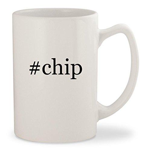 chip - White Hashtag 14oz Ceramic Statesman Coffee Mug Cup