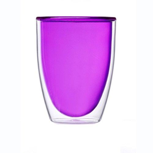 Prodyne Stemless WineTumbler 14 oz Purple