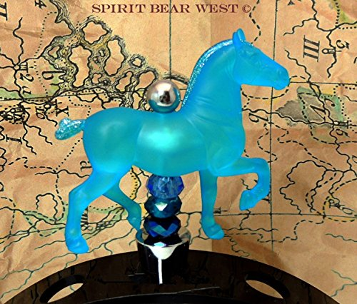 Horse Crazy Fantasy Horses Draft Horse Wine Stopper gift bar ware Country Kitchen decor