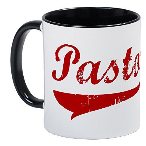 CafePress - Pastor Red Vintage Mug - Unique Coffee Mug Coffee Cup