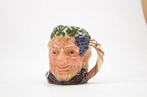 Royal Doulton Bacchus Small Vintage Mug Toby Jug