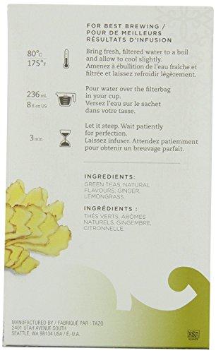 Tazo Green Ginger Tea Filter Bags 24-pc