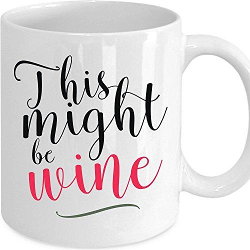 Might Wine Coffee Mug