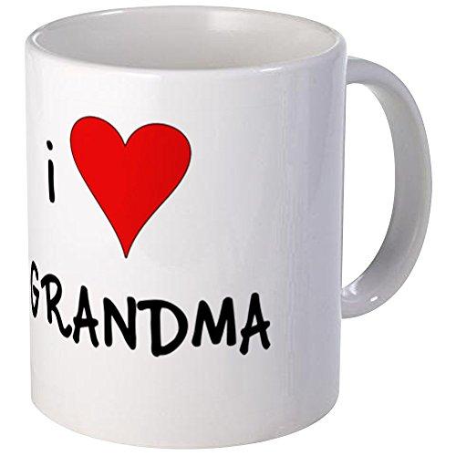 CafePress - I Love Grandma Coffee Cup - Unique Coffee Mug Coffee Cup