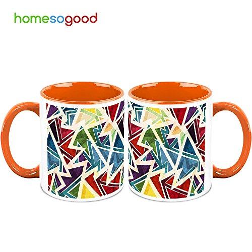 HomeSoGood Sketch By A Toddler Coffee Mugs 2 Mugs