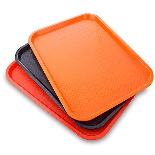 Snack platetrayrectangular plastic platetea cup trayhotel canteen tableware-C