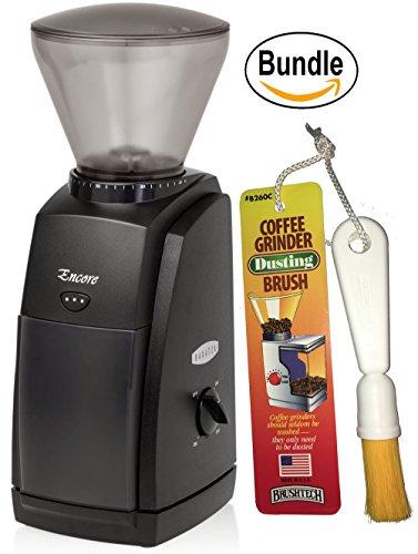 Baratza Encore 485 Conical Burr Coffee Grinder Brushtech Coffee Grinder Dusting Brush Bundle