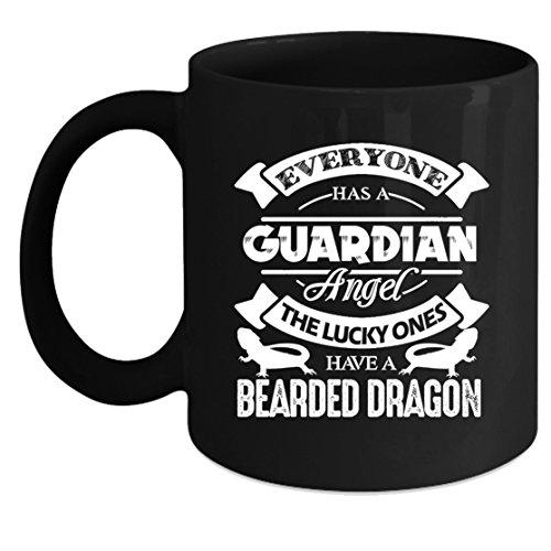 Beard Dragon Coffee Mugs - Beard Dragon Tea Cup Cool Design Mug 11oz Gift For Friend Family Coffee Mug Black