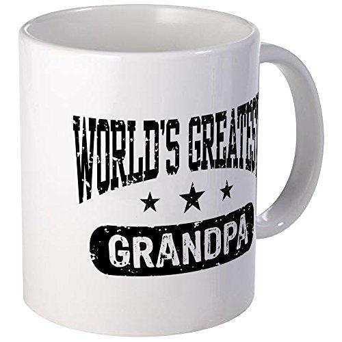 CafePress - Worlds Greatest Grandpa Mug - Unique Coffee Mug Coffee Cup