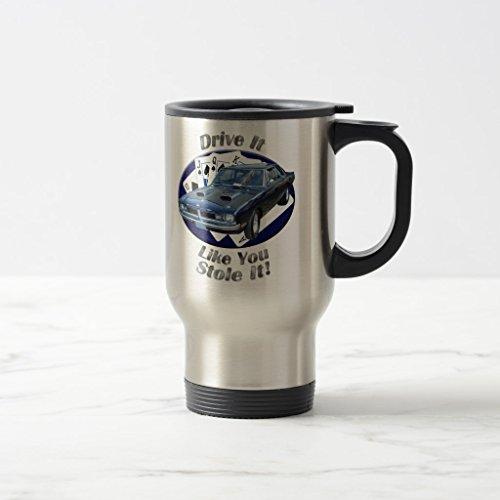 Zazzle Dodge Dart Swinger Drive It Beer Stein Stainless Steel TravelCommuter Mug 15 oz