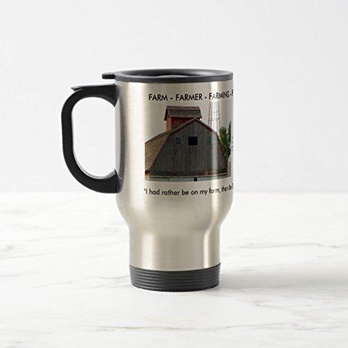 Zazzle Farm Beer Stein Stainless Steel TravelCommuter Mug 15 oz