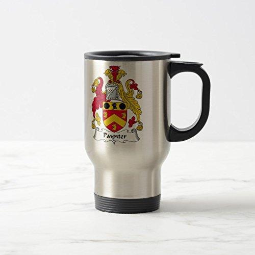 Zazzle Paynter Family Crest Beer Stein Stainless Steel TravelCommuter Mug 15 oz
