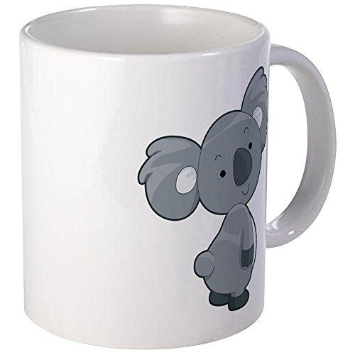 CafePress Cute Gray Koala Mug Unique Coffee Mug Coffee Cup