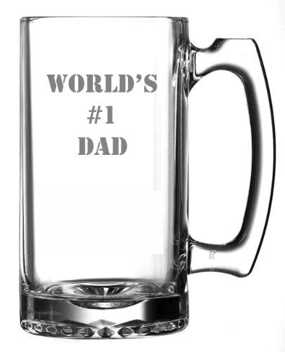 Worlds 1 Dad Beer Mug  27oz