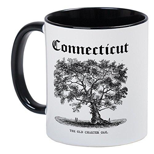 CafePress - The Old Charter Oak Mug - Unique Coffee Mug Coffee Cup