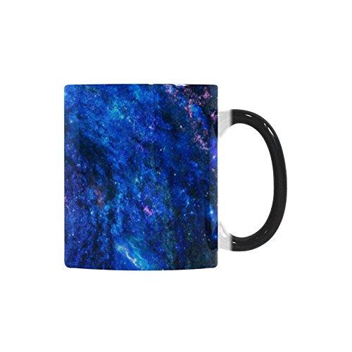 Funny Gifts for Women Men Dad MomGalaxy Coffee Mug Gift for Dad Ceramic Funny Morphing Coffee Mug Birthday Gift Idea for Grandpa Tea Cup 11 OZ