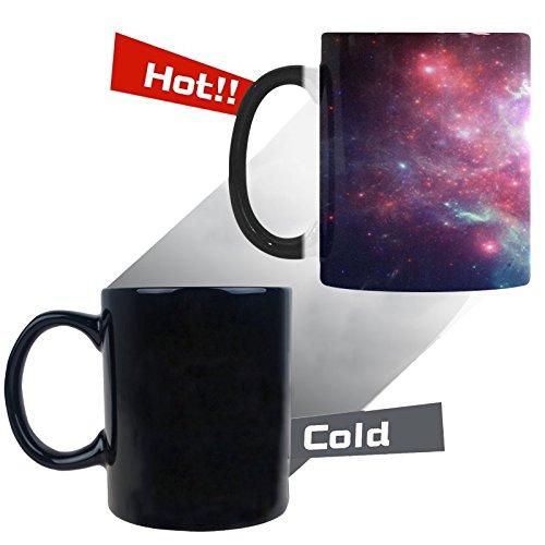 Sweety Love Store-Galaxy Coffee MugsMorphing MugColor Changing Ceramic Mug From Black to White323W x 374H Capacity 11 OZ