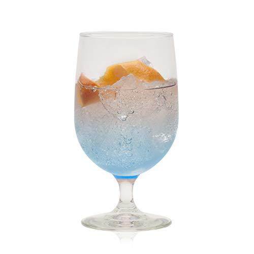 Libbey Montibello Iced Tea Goblet Beverage Glasses Set of 6