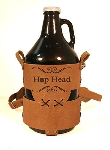 Hop Head Branded Craft Beer Growler Tote…