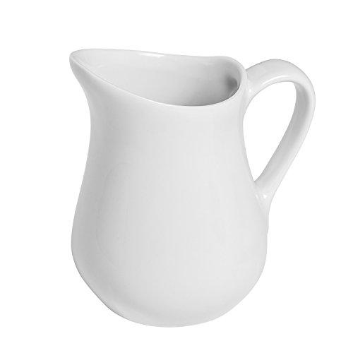 Honey-Can-Do 8052 Porcelain Pitcher White 425-Ounces