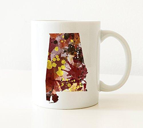 Alabama Mug - Alabama Lover Coffee Mug - 11 oz - Unique Alabama Gifts