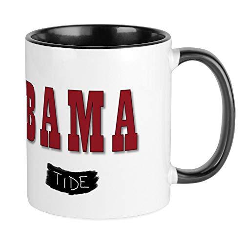 CafePress Alabama Crimson Tide Mugs Unique Coffee Mug Coffee Cup