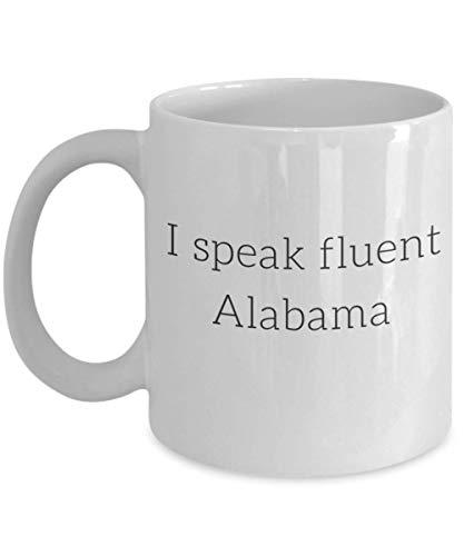 Cool Alabama Mug Fluent Alabama Mug Funny Alabama Gift Alabama Friend Gift Alabama Cup Alabama Present Funny Home State Mug Home State Gift Funny Stat