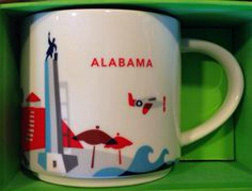 Starbucks ALABAMA You Are Here collection cup mug