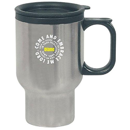 Diane Prayer Catholic Christian God Religious - Travel Mug