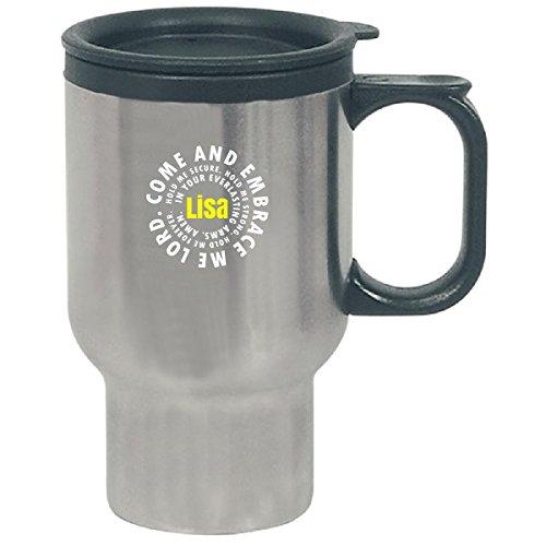 Lisa Prayer Catholic Christian God Religious - Travel Mug