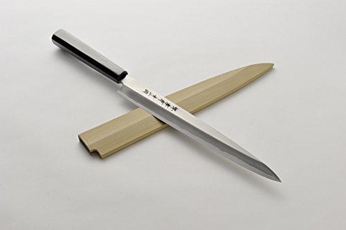 Sakai Takayuki Blue No2 Yanagi Sushi Chef Knife 11830cm Ebony Handles