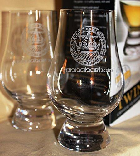 Bunnahabhain Islay Crest Twin Pack Glencairn Whisky Tasting Glasses