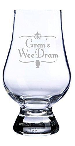 Glencairn Whisky Glass- Grans Wee Dram Made In Scotland